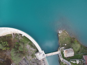 Some drones are flying on Alps, X6 is working on the Alps. See the Dam inspection and 3D Model!
