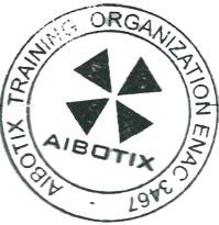 Aibotix certificata ENAC per operazioni specializzate non critiche e Training